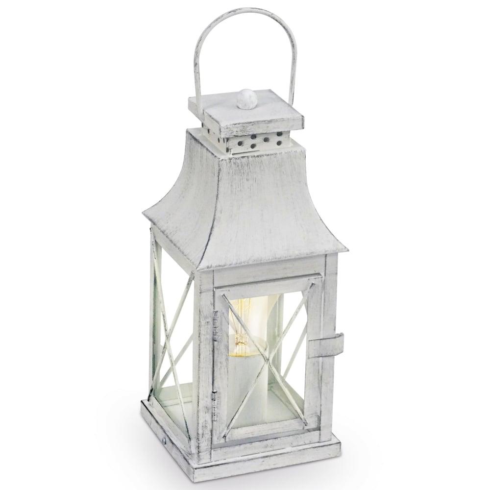 Eglo 49294 Lisburn Grey Lantern Style Table Lamp
