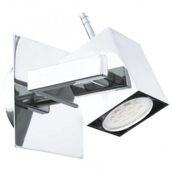 Manao 1 LED Single Chrome Spotlight