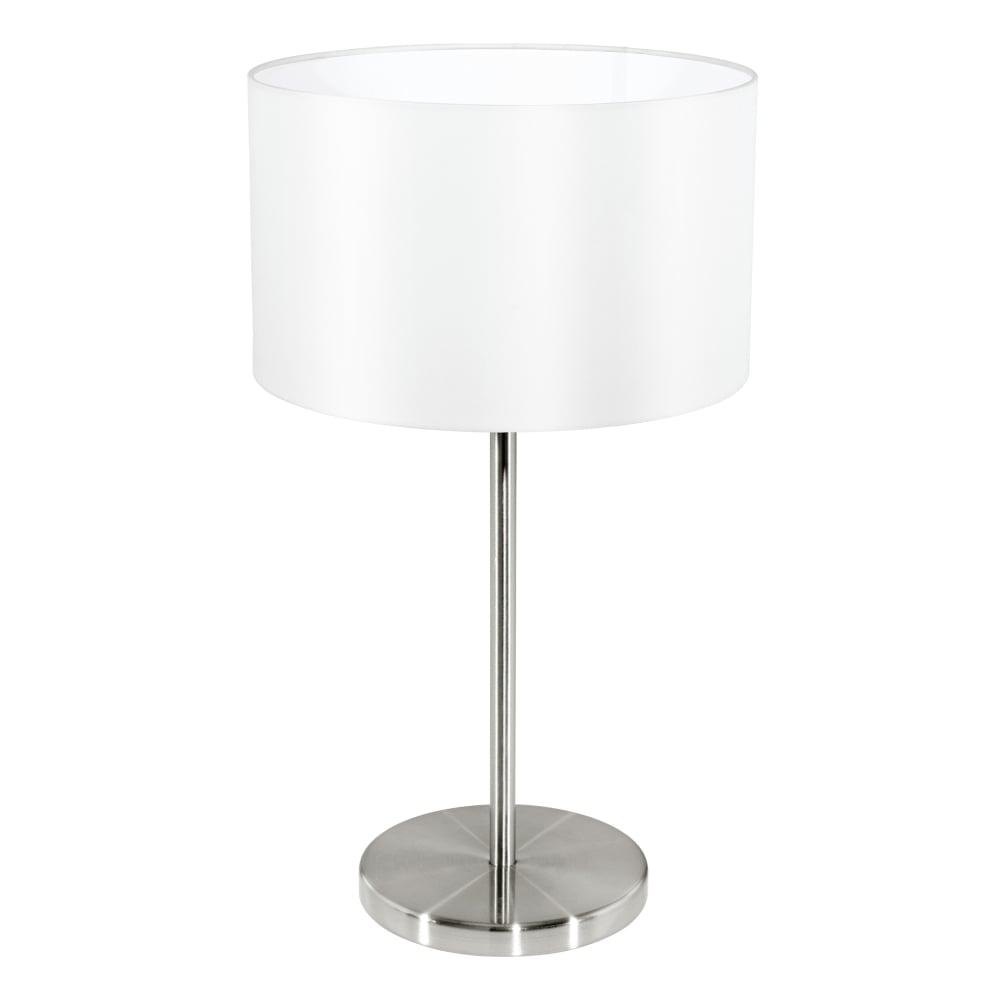 Wonderful Maserlo Table Lamp With A White Shade
