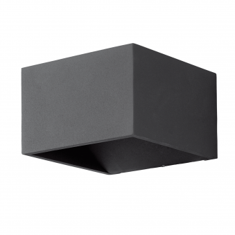 Monfero LED IP44 Wall Light in Anthracite
