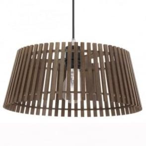 Narola Nut Wooden Tapered Pendant Light