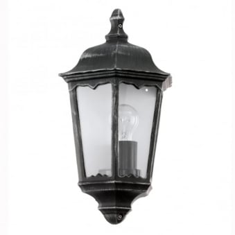 Navedo Black IP44 Exterior Cast Aluminium Wall Light