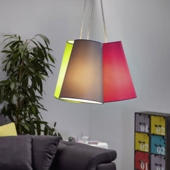 Nevorres Triple Shade Pendant Light