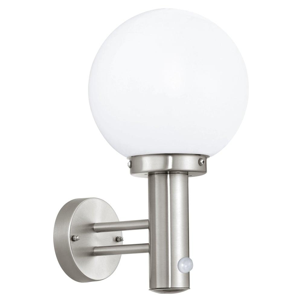 Eglo 27126 nisia pir ip44 outdoor wall light nisia pir ip44 outdoor wall light aloadofball Choice Image