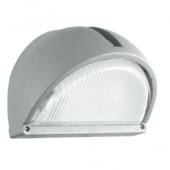 Onja Outdoor IP44 Wall Light in Silver