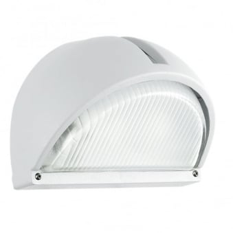Onja Outdoor IP44 Wall Light in White