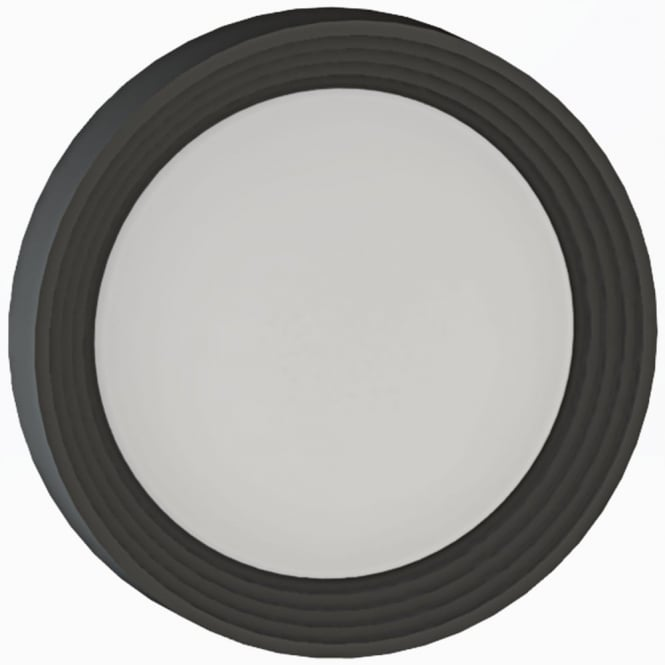 Eglo Ontaneda LED IP44 Outdoor Wall or Ceiling Light in Black