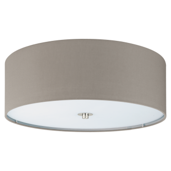 Pasteri Flush Ceiling Light in Taupe