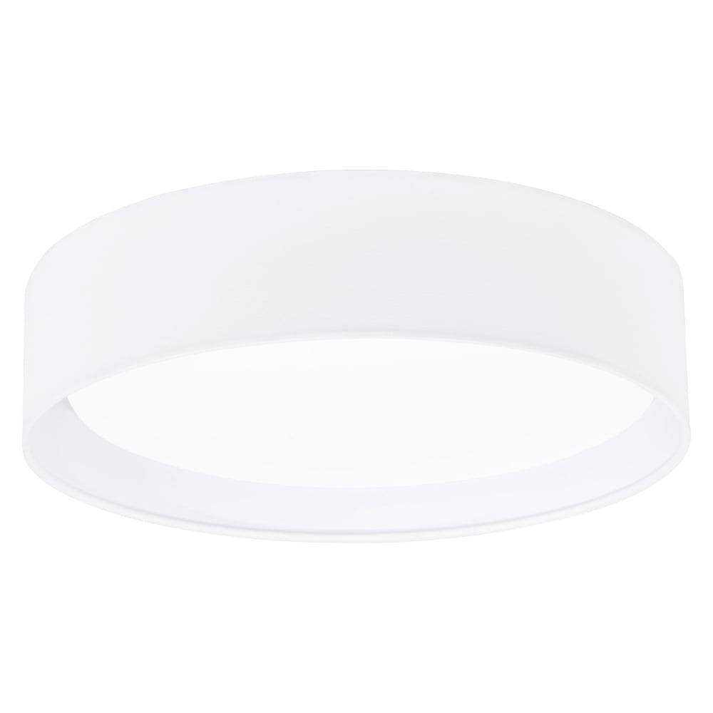 Eglo 31588 pasteri led white fabric flush ceiling light pasteri led white fabric flush ceiling light aloadofball Images
