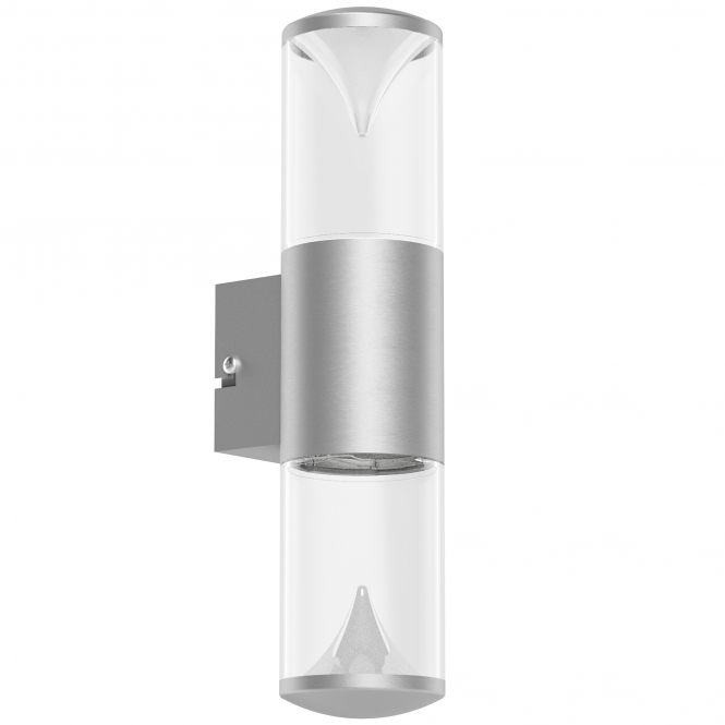 Eglo Penalva 1 Exterior LED Wall Light in Stainless Steel