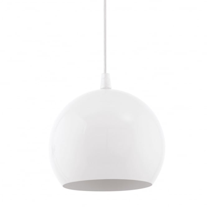 Eglo Petto 1 LED Pendant Light Finished in White