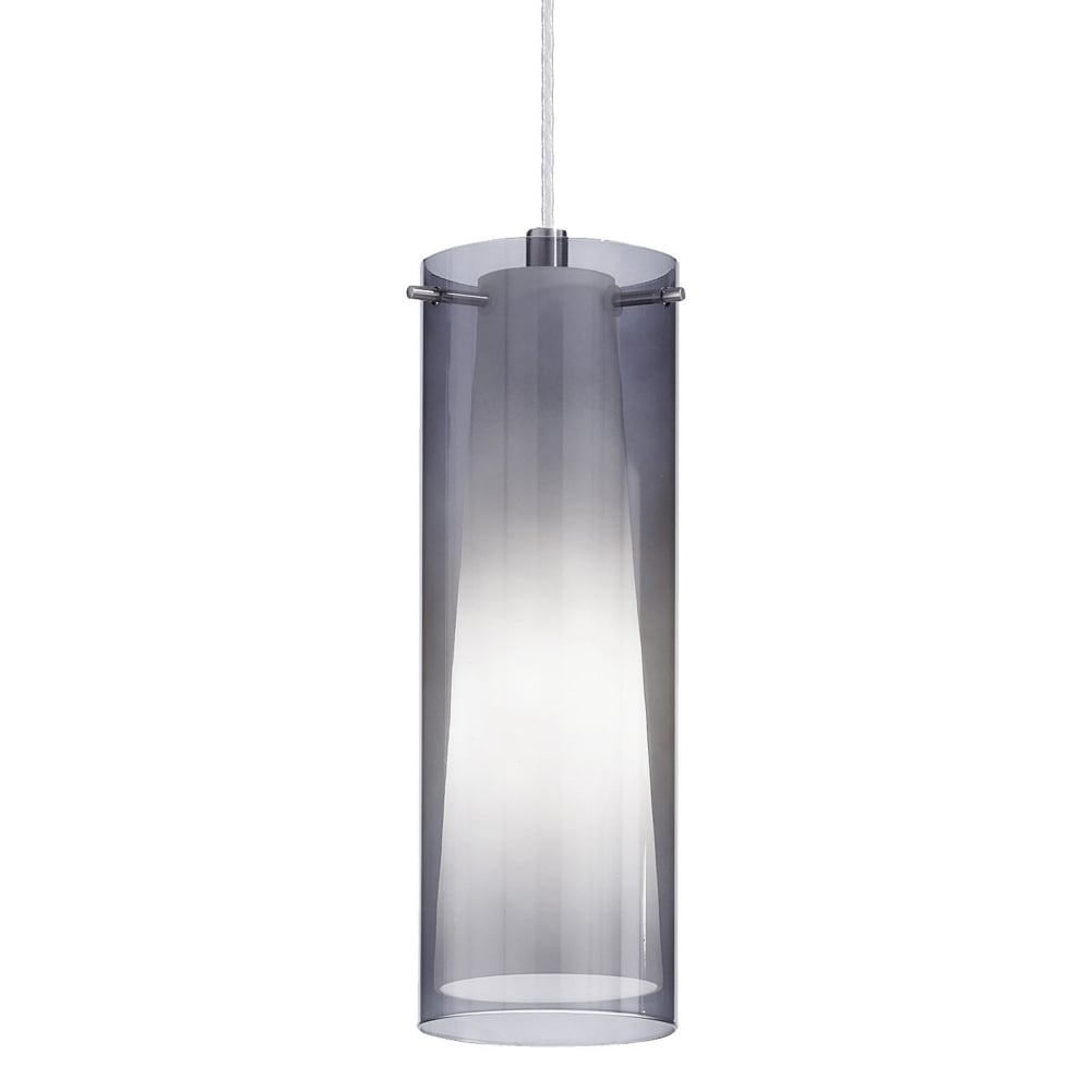 drop chuva shape pendant light glass rain products smoke black wine
