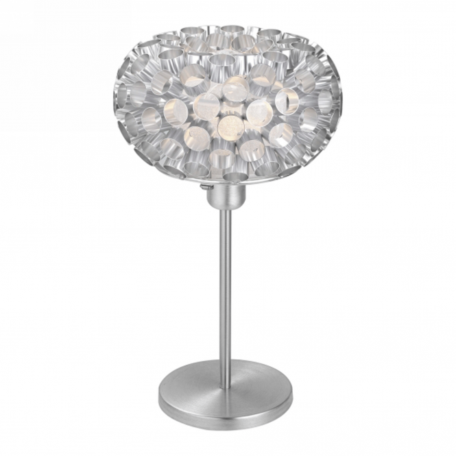 Eglo Clearance Rebell Table Lamp in Brushed Aluminium