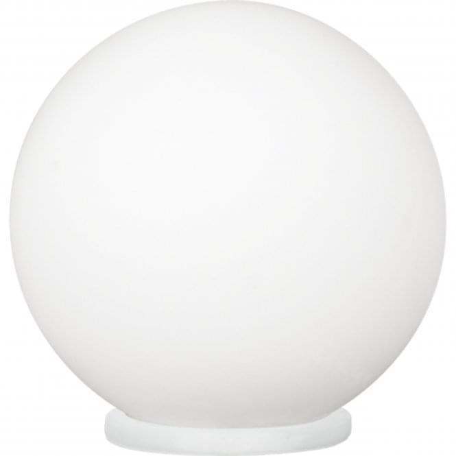 Eglo Rondo Small Opal White Glass Globe Table Light