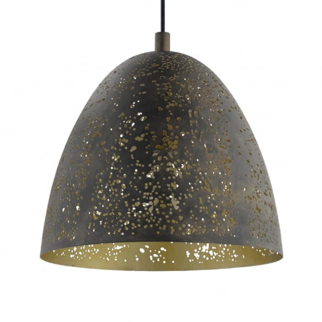 Eglo Safi Gold and Brown Pendant Light