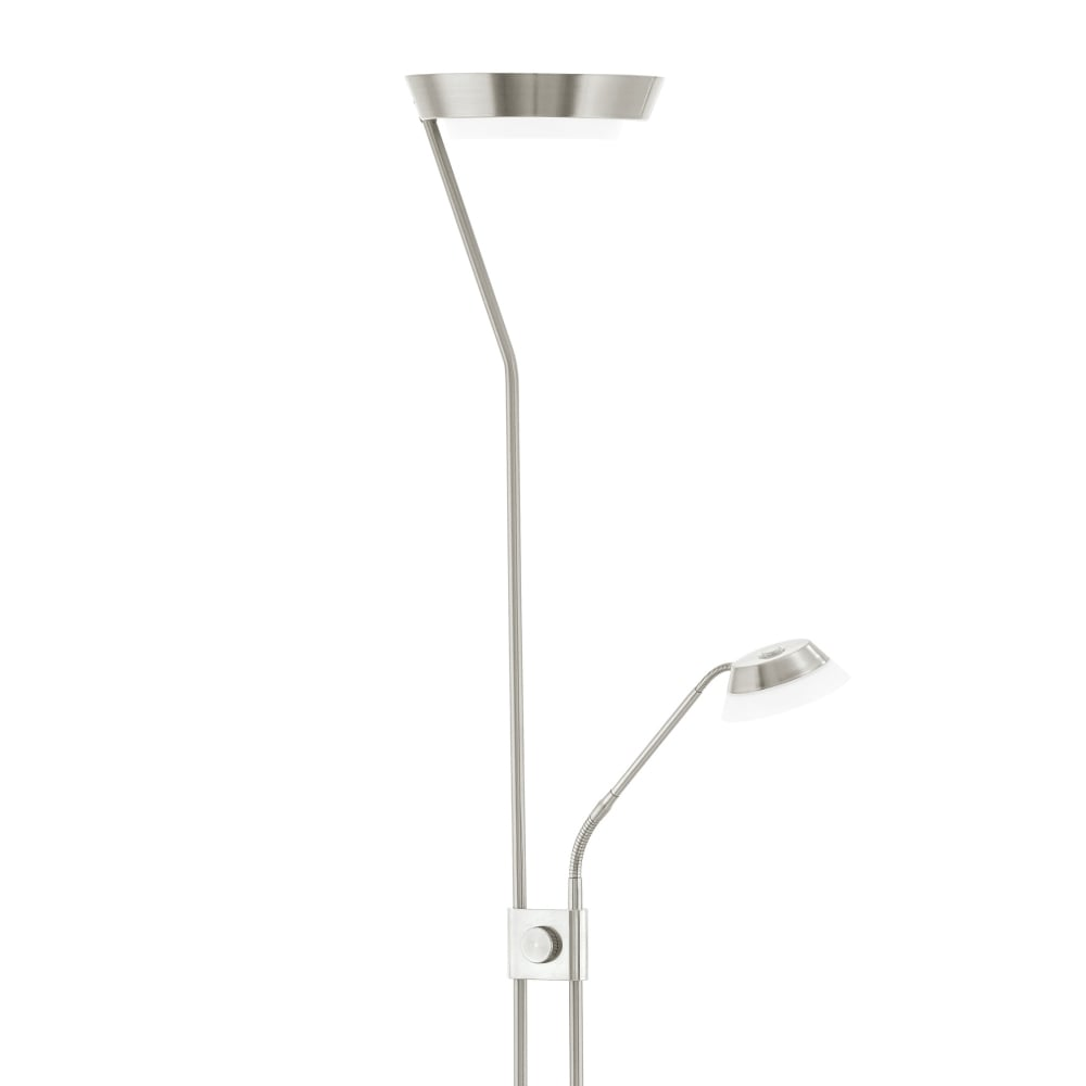 Eglo 93713 sarrione mother and child led floor lamp in satin nickel sarrione mother and child led floor lamp in satin nickel aloadofball Image collections