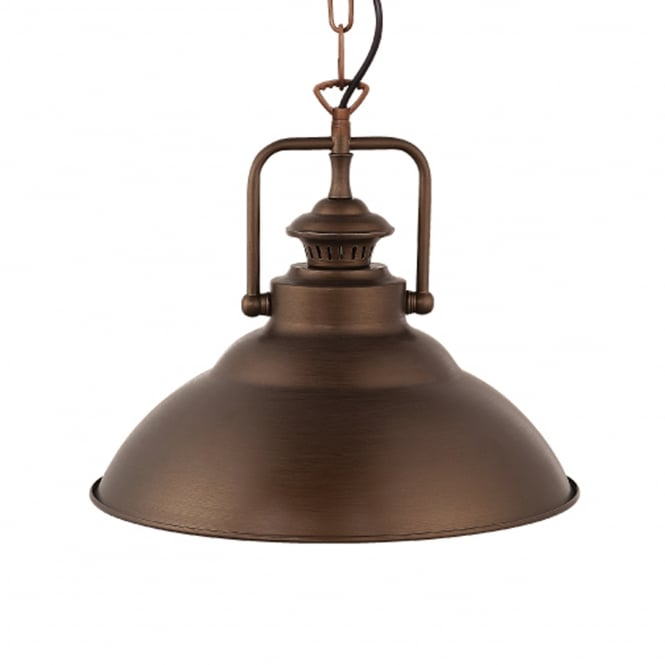 Eglo Stanmore Antique Bronze Pendant Light