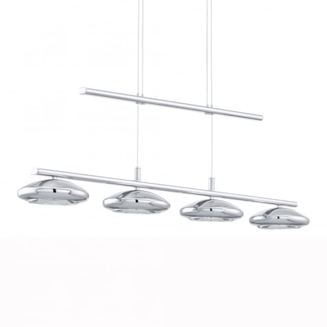 Eglo Tarugo LED Adjustable 4 Spot Bar Pendant Light