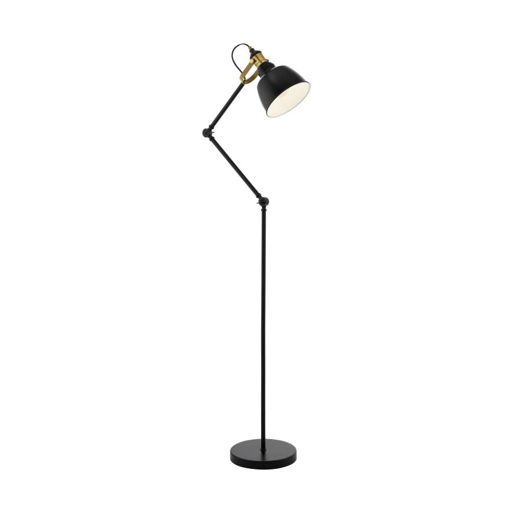 Eglo 49524 thornford black and bronze floor lamp thornford black and bronze floor lamp aloadofball Gallery