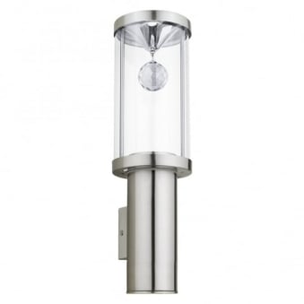Trono 2 LED Exterior Wall Light in Stainless Steel