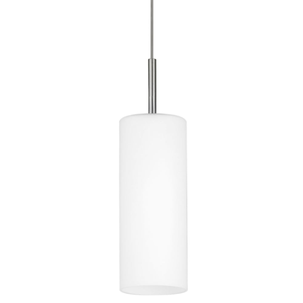 Eglo 85977 Troy 3 Single White Satinated Glass Pendant Light