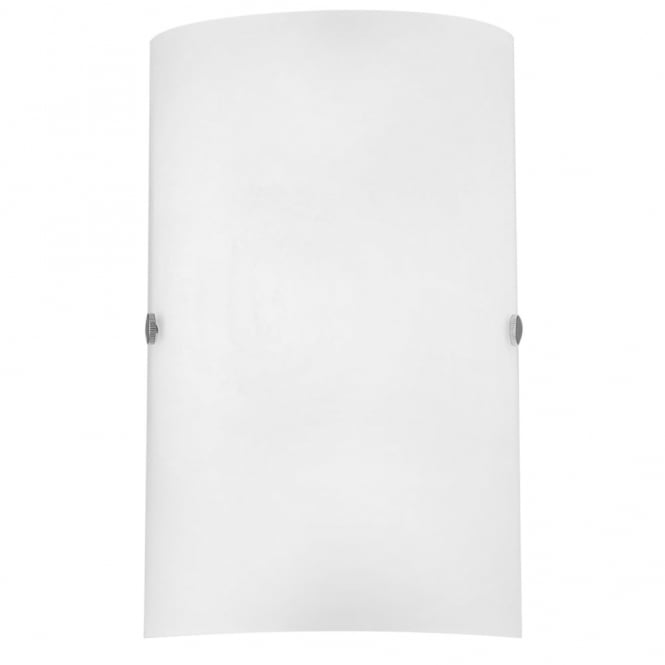 Eglo Troy 3 White Satinated Glass Wall Light