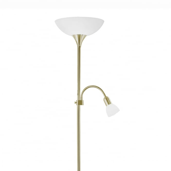 Eglo Up 2 Reading Floor Lamp in Bronze