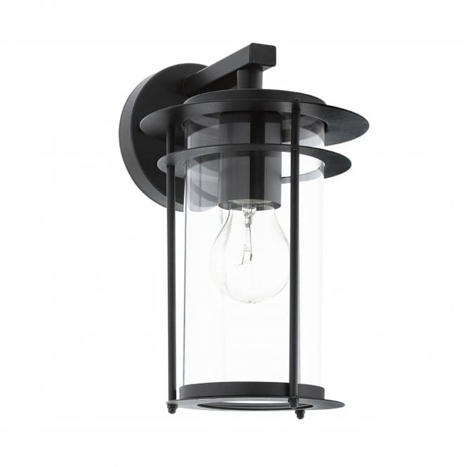 Eglo Valdeo IP44 Outdoor Wall Light in Black