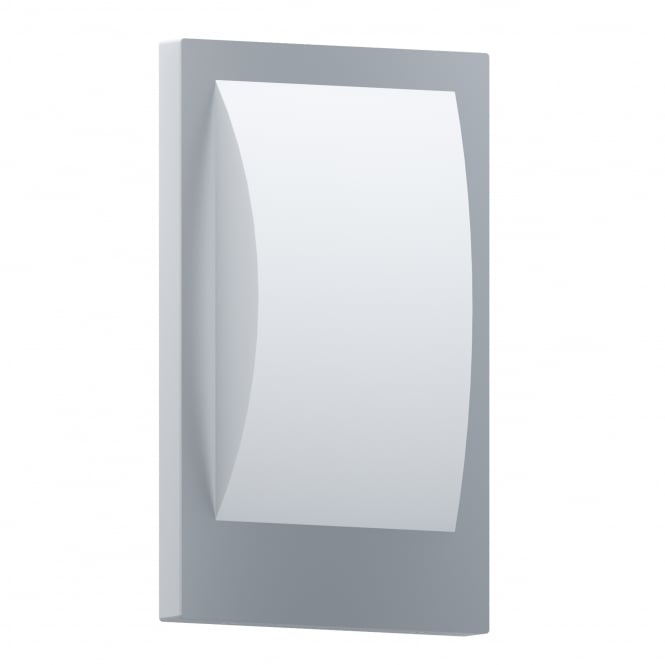 Eglo Verres-C LED IP44 Outdoor Wall Light in Stainless Steel