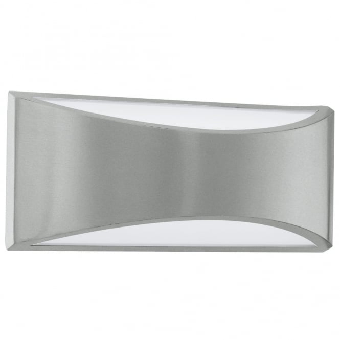 Eglo Volpino LED IP44 Exterior Galvanised Steel Up and Down Wall Light