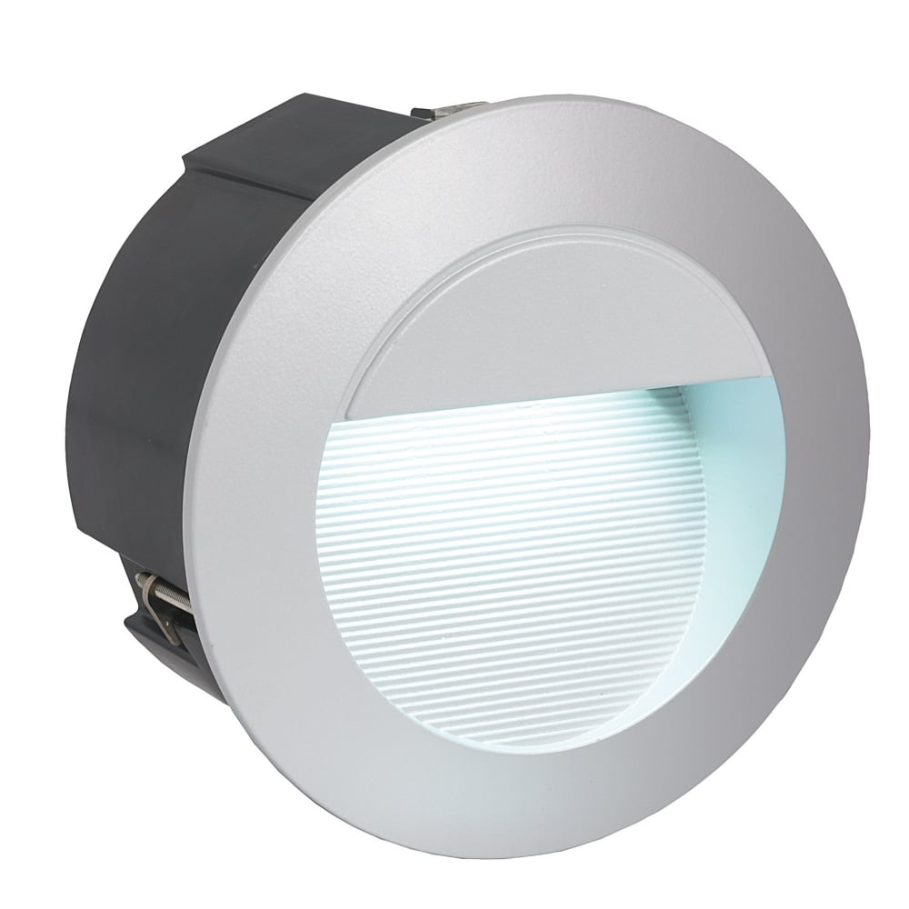 Zimba Exterior IP65 LED Round Recessed Wall Light