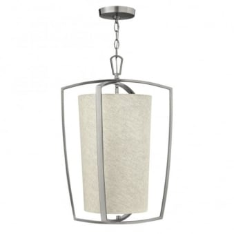 Blakely Large Pendant in Brushed Nickel