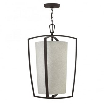 Blakely Large Pendant in Buckeye Bronze