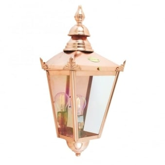 Chelsea CS7 Copper Half Exterior Wall Light