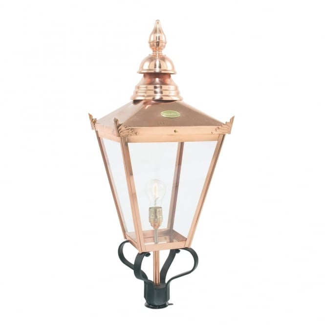 Elstead Lighting Chelsea CSHO Copper Small Exterior Light Head Only