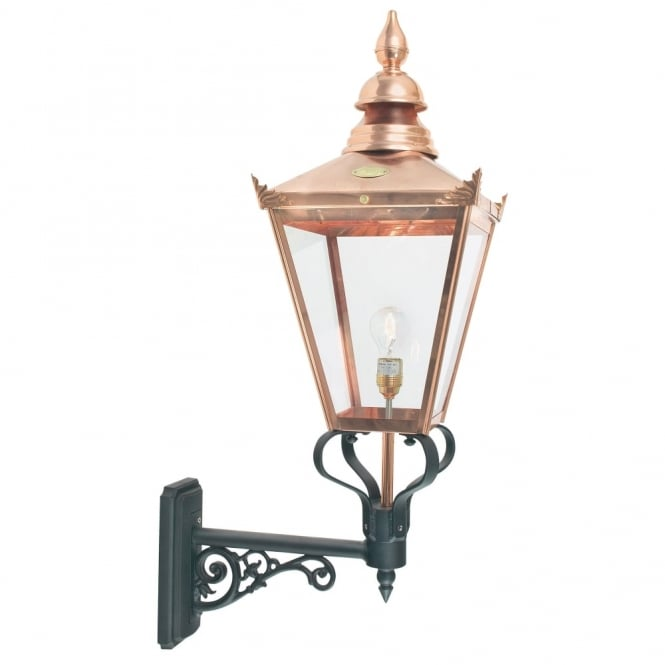 Elstead Lighting Chelsea Grande CSG1 Copper Exterior Wall Lantern