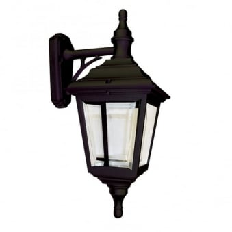 Elstead Kerry 4 Sided Outdoor Wall Down Light