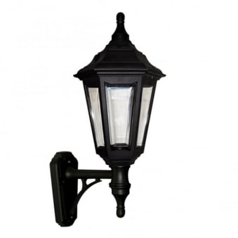 Elstead Kinsale 6 Sided Outdoor Wall Up Light