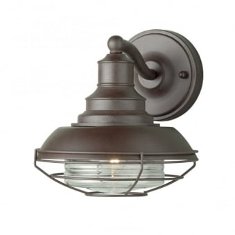 Euston Wrought Iron Outdoor Wall Light