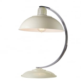 Franklin Bureau Desk Lamp in Oyster Cream