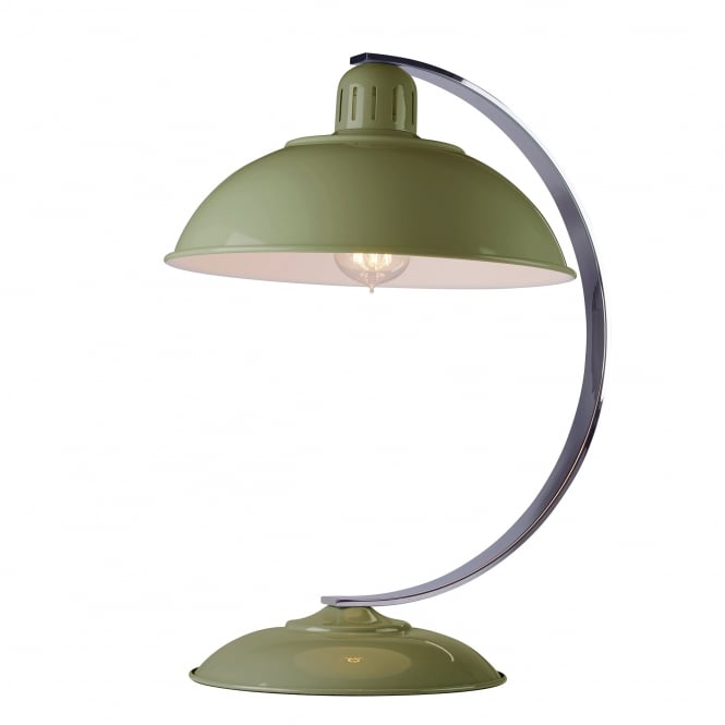 Elstead Lighting Franklin Bureau Desk Lamp in Reed Green