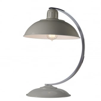 Franklin Bureau Desk Lamp in Tarpaulin Grey