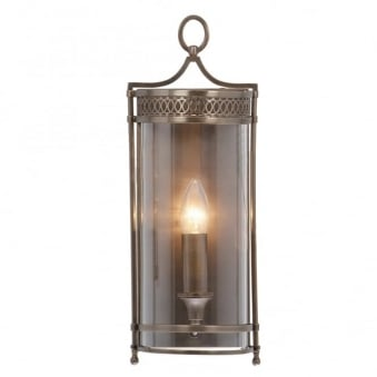 Guildhall Wall Light in Dark Bronze