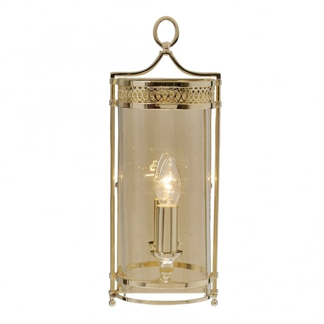 Elstead Lighting Guildhall Wall Light in Polished Brass