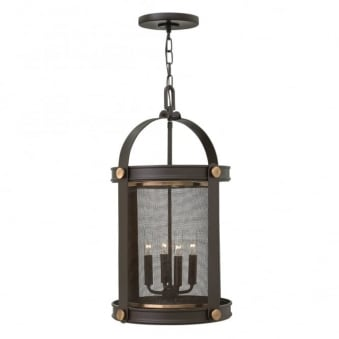 Holden 4 Light Pendant Chandelier in Buckeye Bronze
