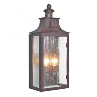 Kendal Wrought Iron Outdoor Wall Light