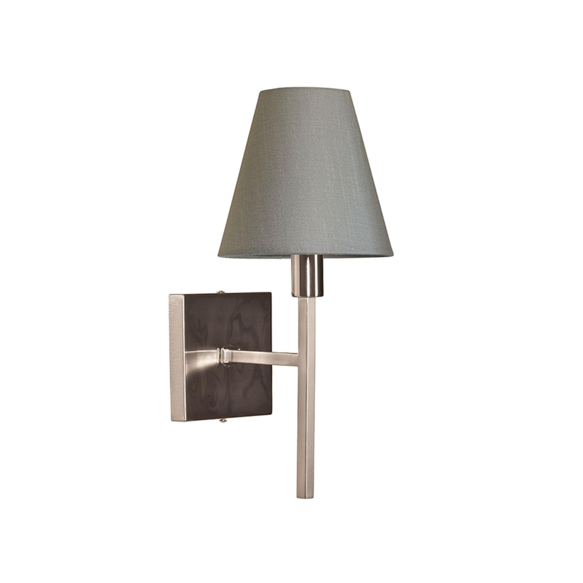 Elstead Lighting Lucerne Single Wall Light In Brushed Nickel Fitting Style From Dusk Lighting Uk