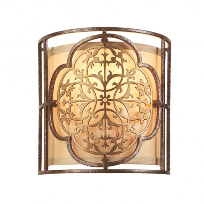Elstead Lighting Marcella Wall Light Finished in Oxidized Bronze