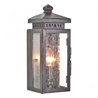 Matlock Wrought Iron Outdoor Wall Light