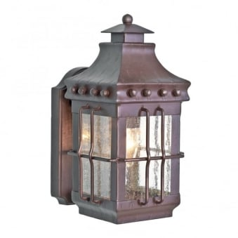 Merrow Wrought Iron Outdoor Wall Light